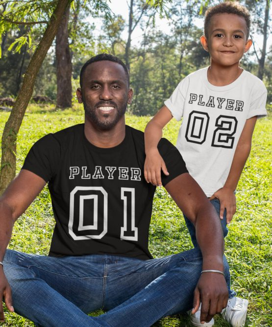 Vader Zoon T-Shirt Player 01 Player 02