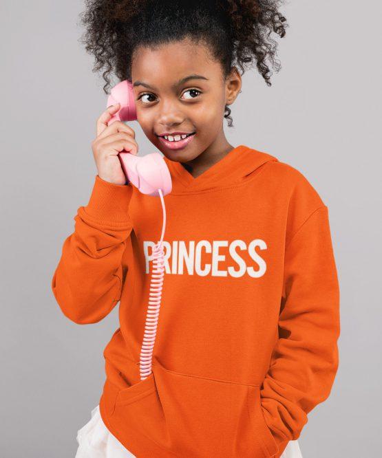 Koningsdag Hoodie Kind Princess