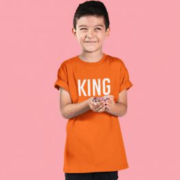 Koningsdag Shirt Kind King