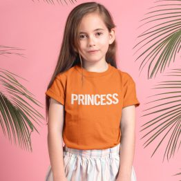 Koningsdag Shirt Kind Princess