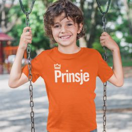 Koningsdag Shirt Kind Prinsje