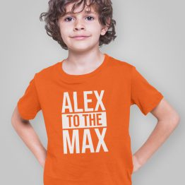 Koningsdag T-Shirt Kind Alex to the Max