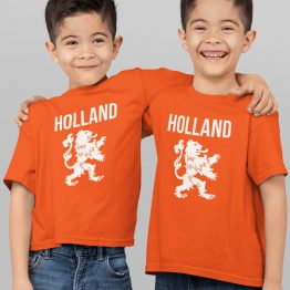 Koningsdag T-Shirt Kind Holland