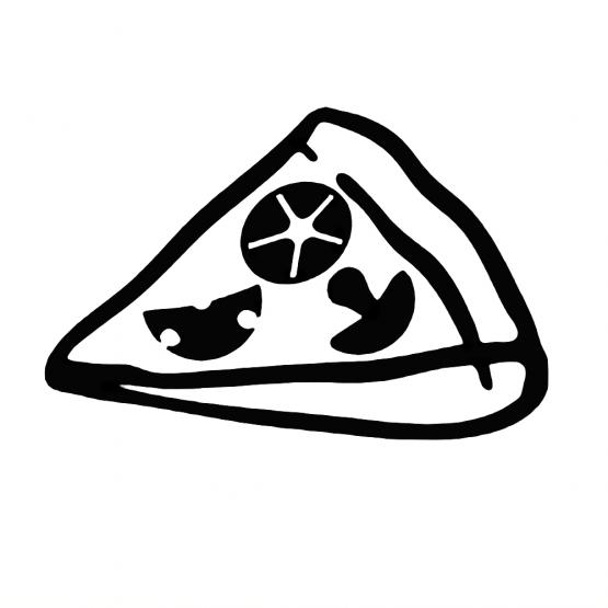 Vader Zoon Kleding Pizza Opdruk 2