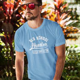 Blauw Festival T-shirt Old School Hustler