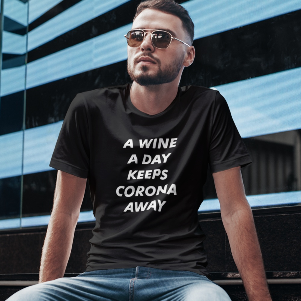 Corona T-Shirt A Wine A Day