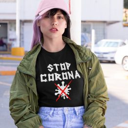 Corona T-Shirt Stop Corona