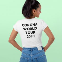Corona T-shirt Corona world Tour 2020 Back 2 (1)