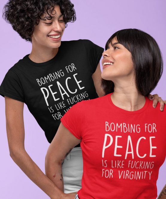 Festival Shirt Bombing for Peace
