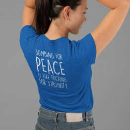 Festival Shirt Bombing for Peace Back
