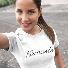 Festival Shirt Namaste wit