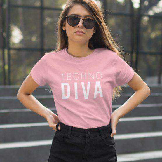 Festival Shirt Techno Diva 3