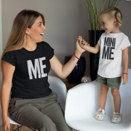 Moeder Dochter Shirts Me Mini Me