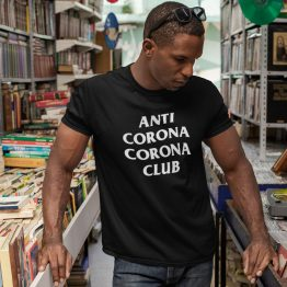 Corona T-Shirt Anti Corona Club 2