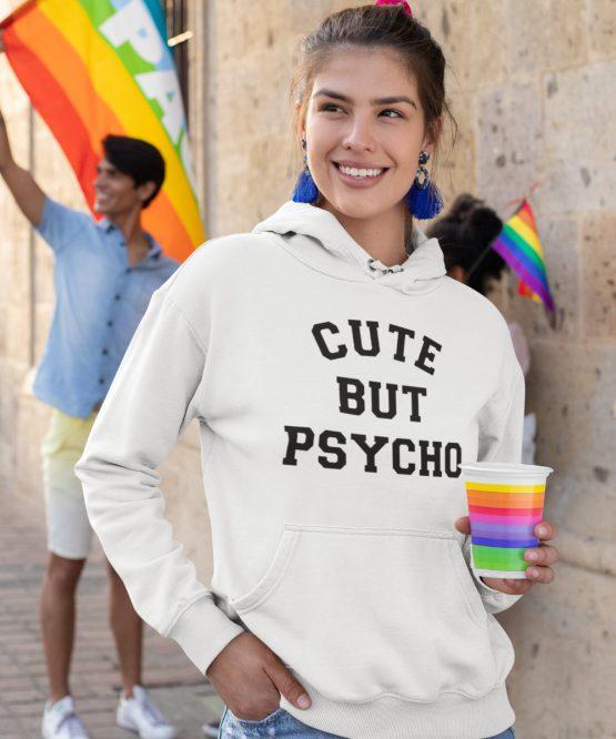 Festival Hoodie Cute But Psycho 2
