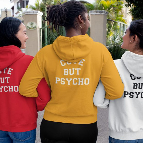 Festival Hoodie Cute But Psycho Back (1)