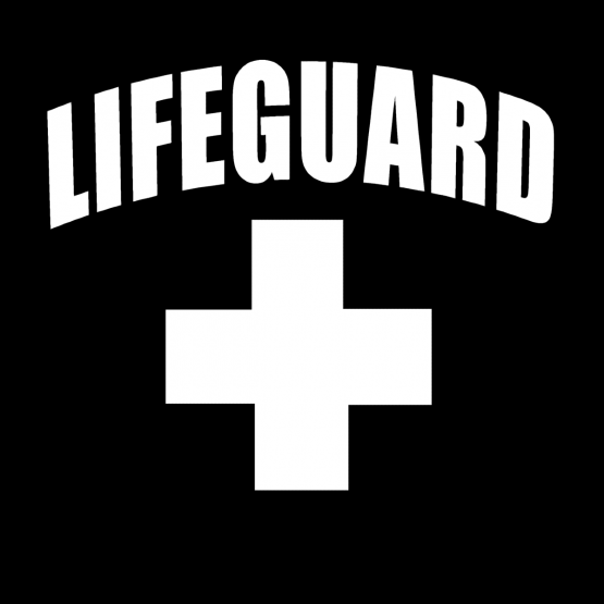 Festival Hoodie Lifeguard Opdruk