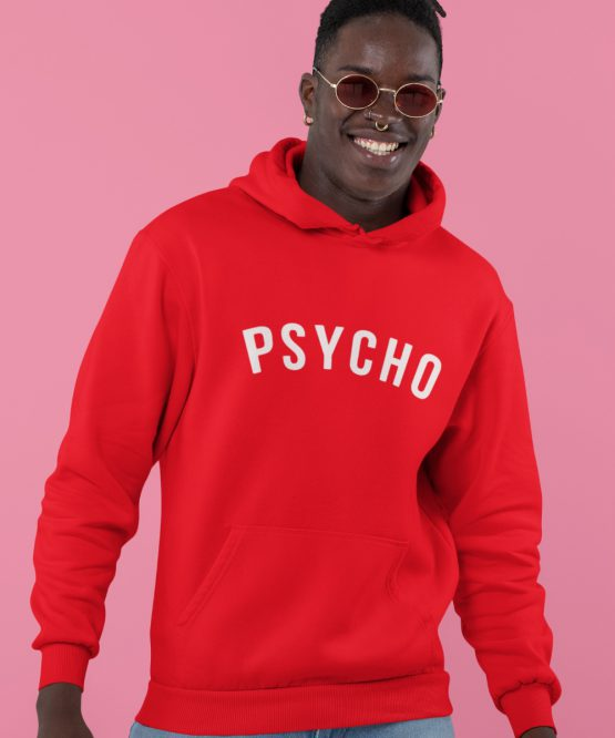 Festival Hoodie Psycho Rood