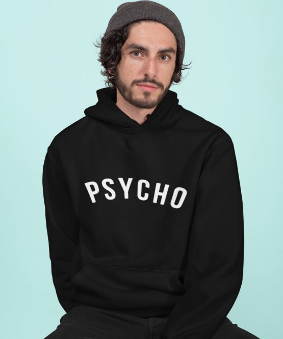 Festival Hoodie Psycho Zwart