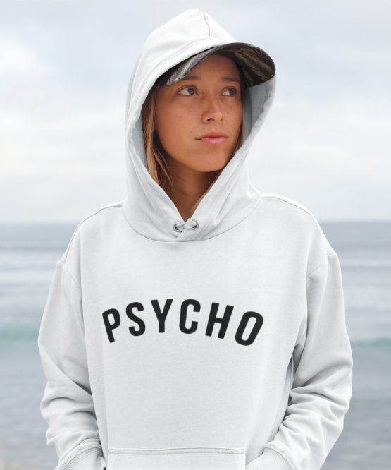 Festival Hoodie Psycho wit