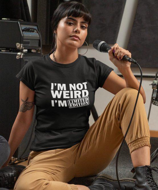 Festival T-Shirt I'm Not Weird