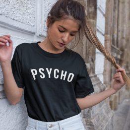 Festival T Shirt Psycho Black