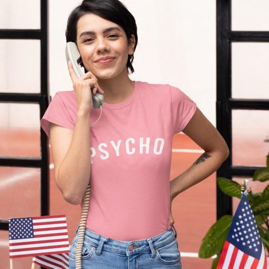 Festival T Shirt Psycho Roze