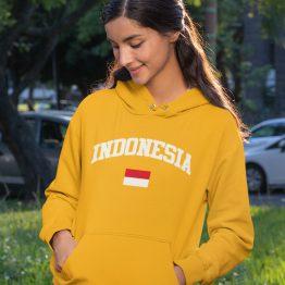 Indo Hoodie Indonesia Geel