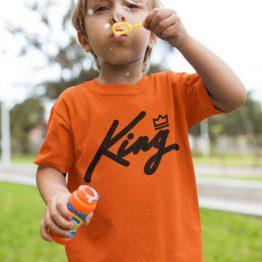 Oranje kinderkleding
