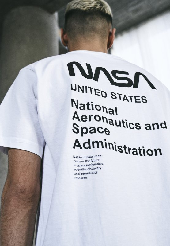 NASA Moon Landing T-Shirt close up