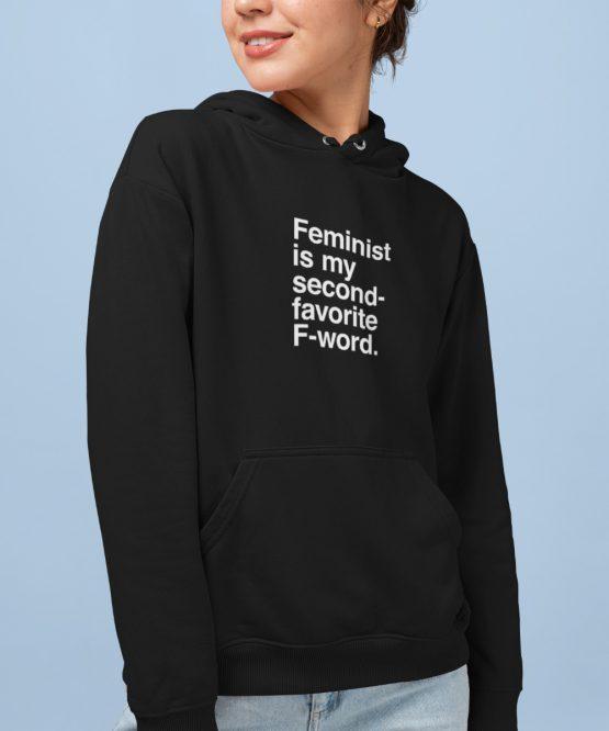 Feminisme Hoodie F-word