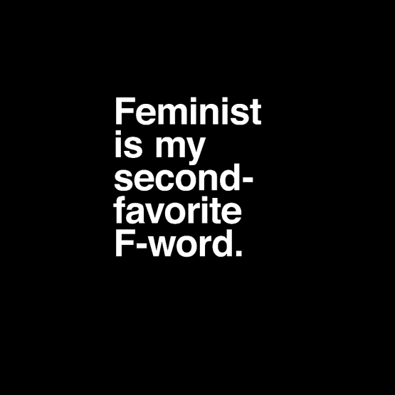 Feminisme Kleding Second Favorite F-word