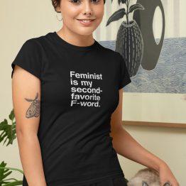 Feminist T-Shirt F-word 2