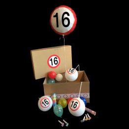 Helium ballon verjaardag 16