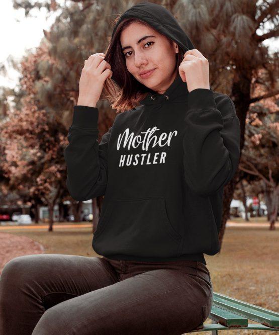 Moeder Hoodie Mother Hustler