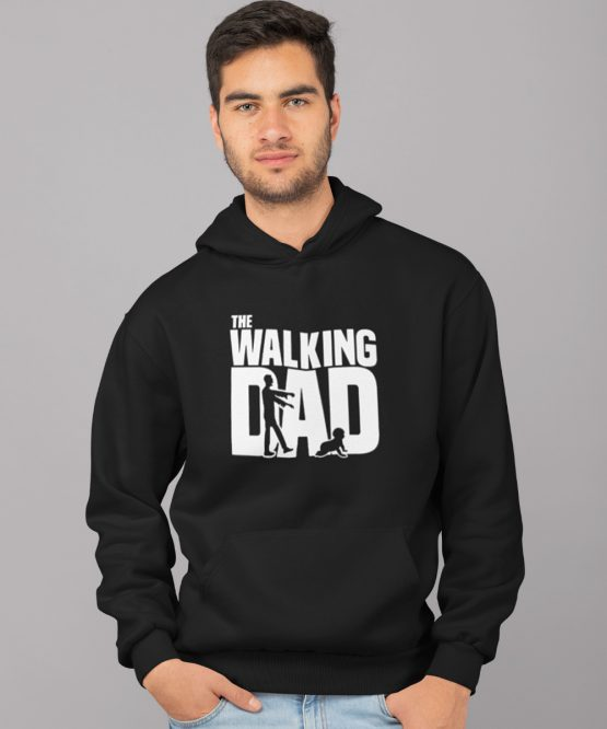Vaderdag Hoodie The walking Dad