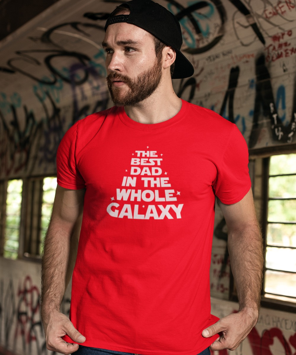 Vaderdag Trui The Best Dad In The Whole Galaxy | 1001CAPS