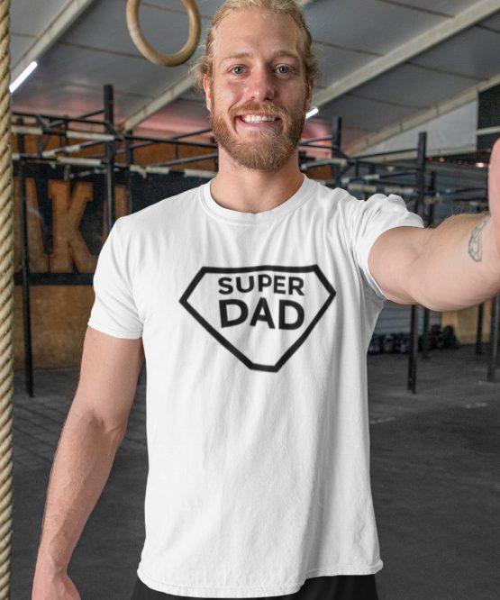 Vaderdag T-Shirt Super Dad 1