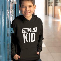 Hoodie Kind Awesome Kid 2
