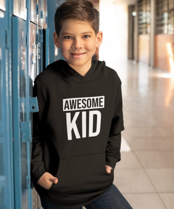 Hoodie Kind Awesome Kid 2