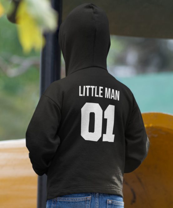 Hoodie Kind Little Man 1