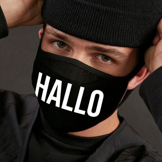 Mondkapje Hallo