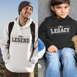 Vader Zoon Hoodies The Legend The Legacy