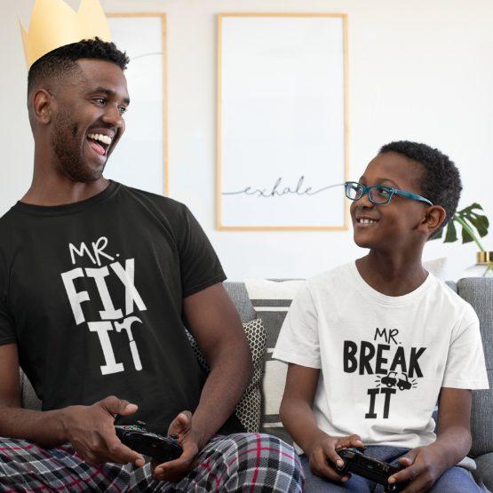 Vader Zoon T-Shirts Fix It & Break It