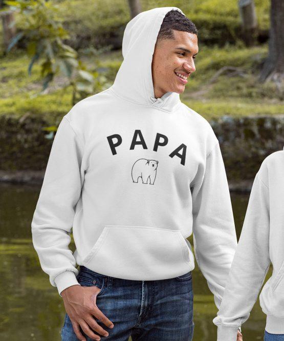 Vaderdag Hoodie Papa Bear 1