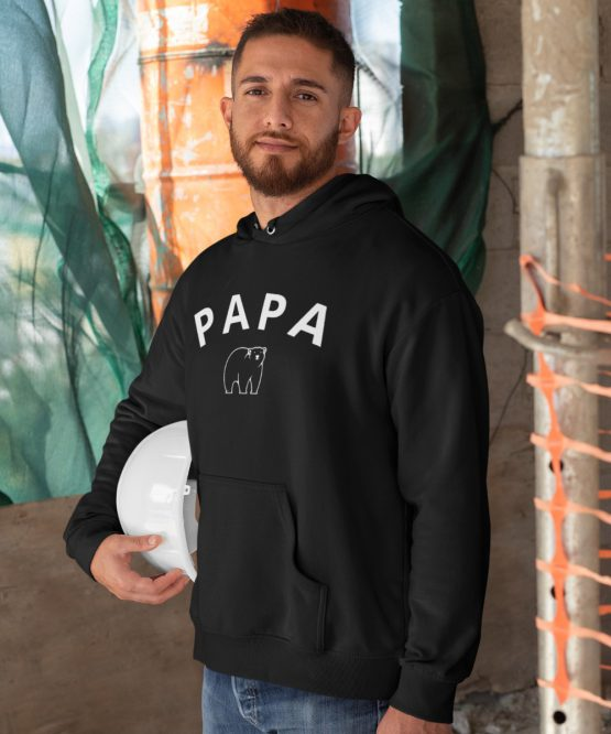 Vaderdag Hoodie Papa Bear 2