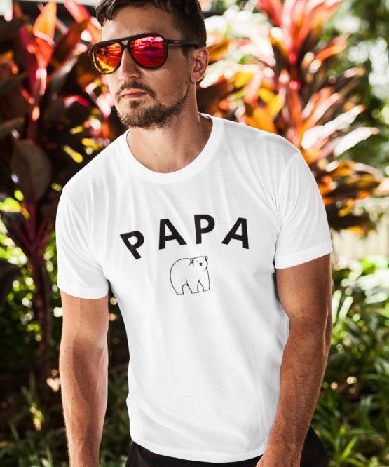 Vaderdag T-Shirt Papa Bear 2