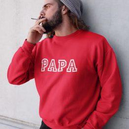 Vaderdag Trui Papa Rood