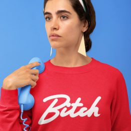 Bitch Sweater Premium Red