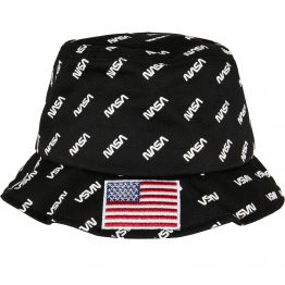NASA Bucket Hat Zwart